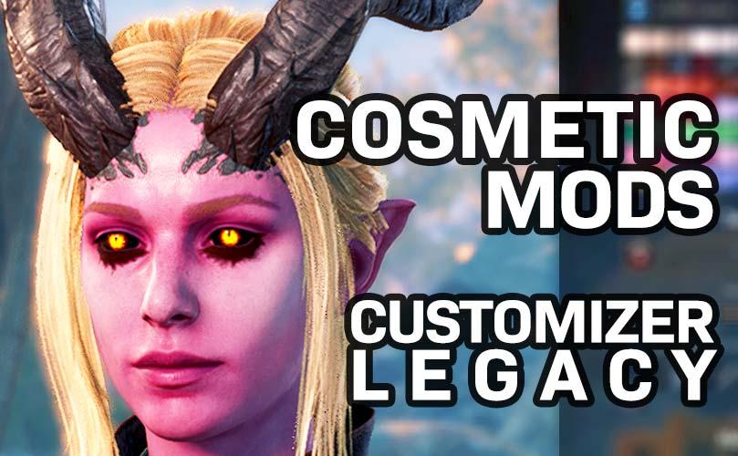 bg3 cosmetic mods customizer legacy