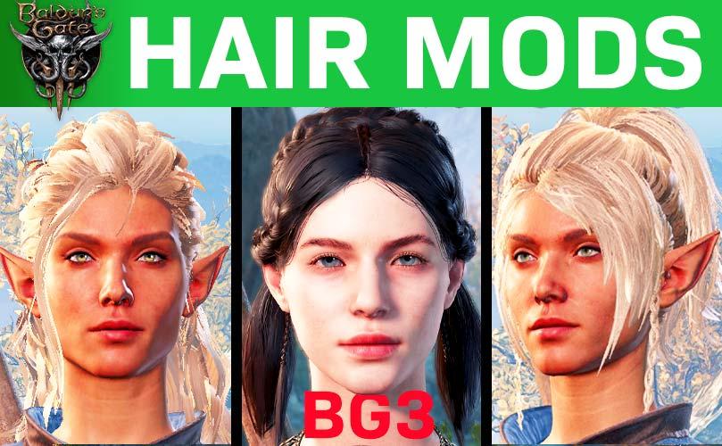 bg3 hair mods