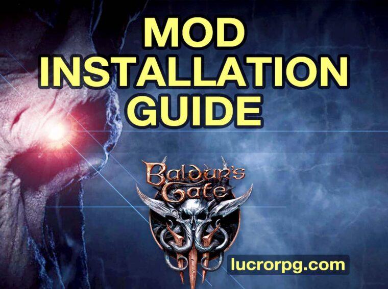 baldur's gate 3 mod installation guide
