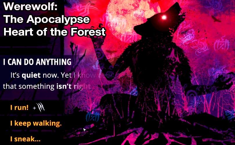 werewolf apocalypse heart of forest