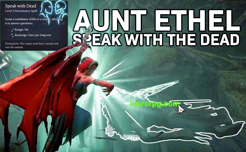 ethel hag speak with dead