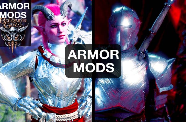 baldur's gate 3 armor mods