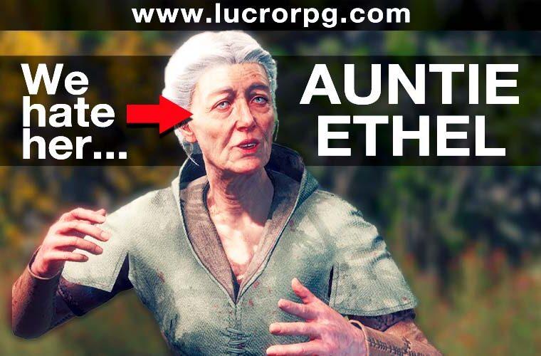baldur's gate 3 aunt ethel