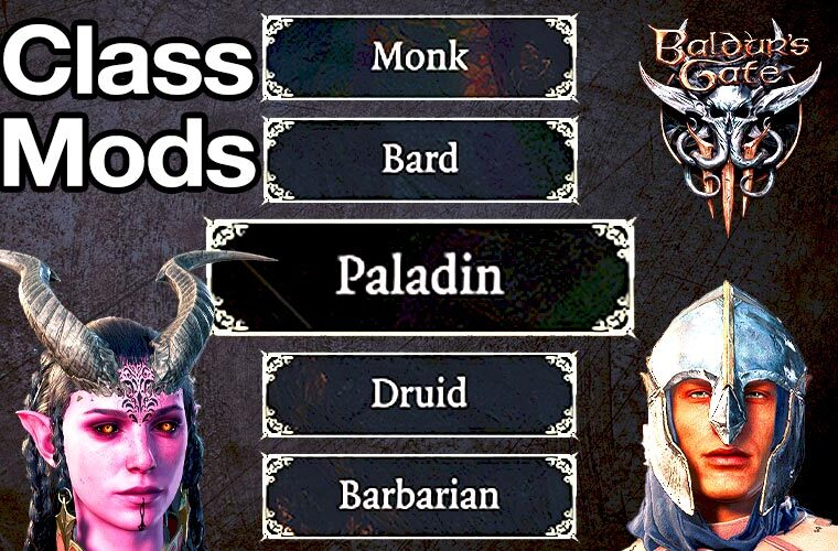 baldur's gate 3 class mods