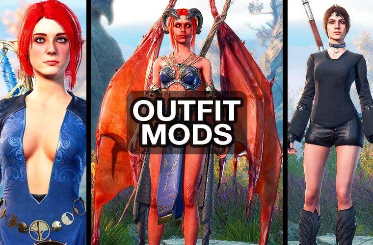baldur's gate 3 outfit mods