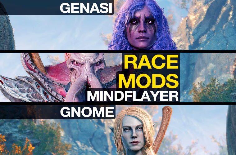 baldur's gate 3 race mods