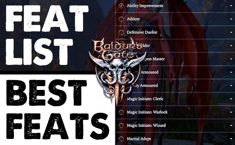baldur's gate 3 best feats