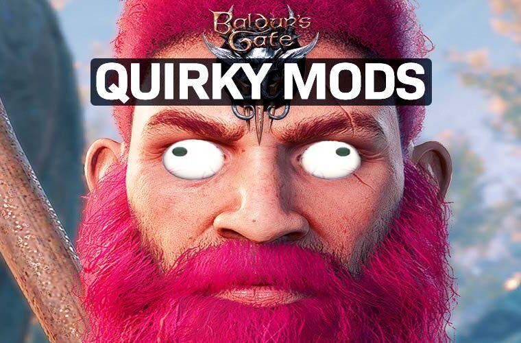 baldur's gate 3 funny mods