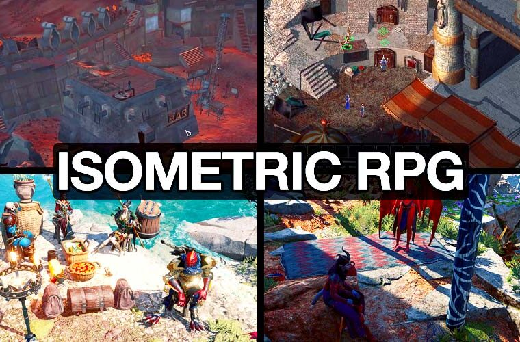 what is isometric rpg