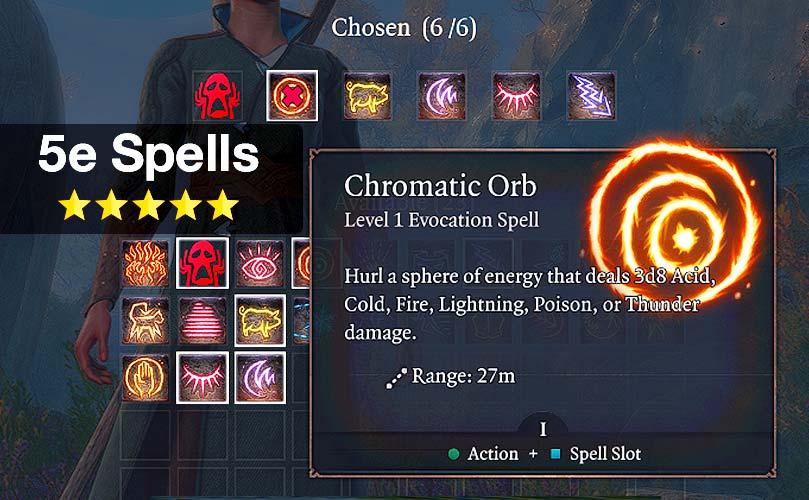5e spells