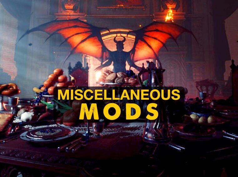 baldur's gate 3 misc mods