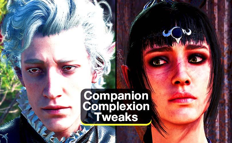 companion complexion tweaks