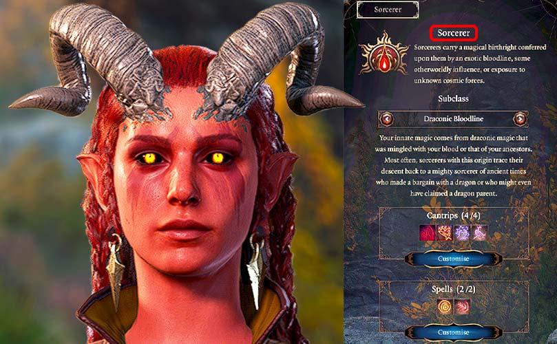 baldur's gate 3 sorcerer