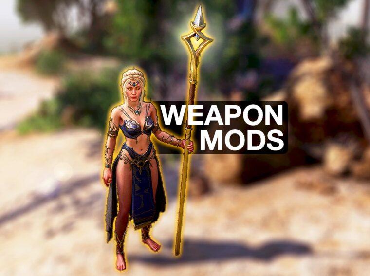 baldur's Gate 3 weapon mods